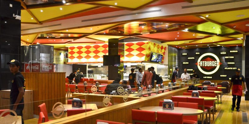 A Fatburger restaurant in Karachi, Pakistan. The southern California burger chain is one of many brands pushing into Pakistan as incomes grow.  / <a href='https://www.fatburger.com/locations/karachi'>Fatburger</a>