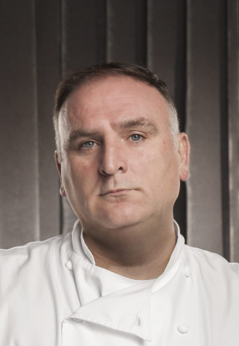 Chef José Andrés and team prepare paella in Puerto Rico. / <a href='https://www.facebook.com/WorldCentralKitchen/photos/pcb.1554506644592420/1554505924592492/?type=3&theater'>World Central Kitchen Facebook</a>