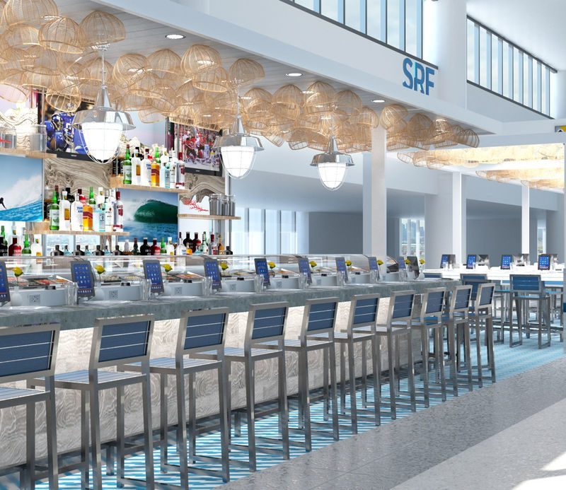 One of the many Newark International Airport Terminal C food concessions managed by OTG. / OTG Management
