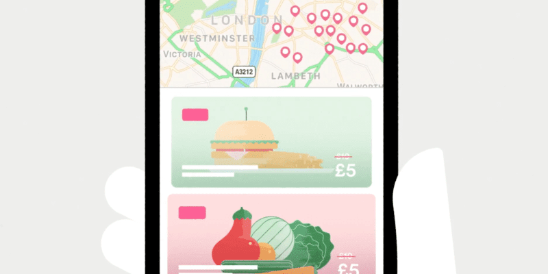 A promotional video for the Karma app explains how users can get cheaper meals. / Karma