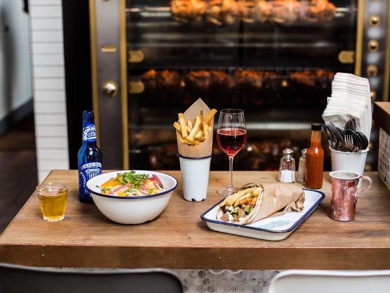 The counter at Souvla, a fast-fine Mediterranean restaurant group in San Francisco - Souvla / <a href='https://www.facebook.com/souvla/'>Facebook</a>