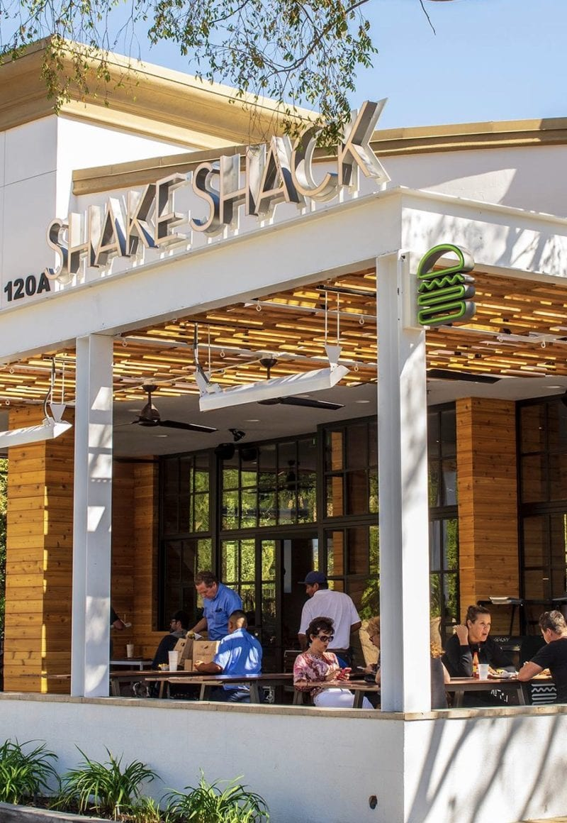 The Westlake Village Shake Shack in California. - Facebook / <a href='https://www.facebook.com/shakeshack/photos/a.501838315181/10161018142920182/'>Shake Shack</a>