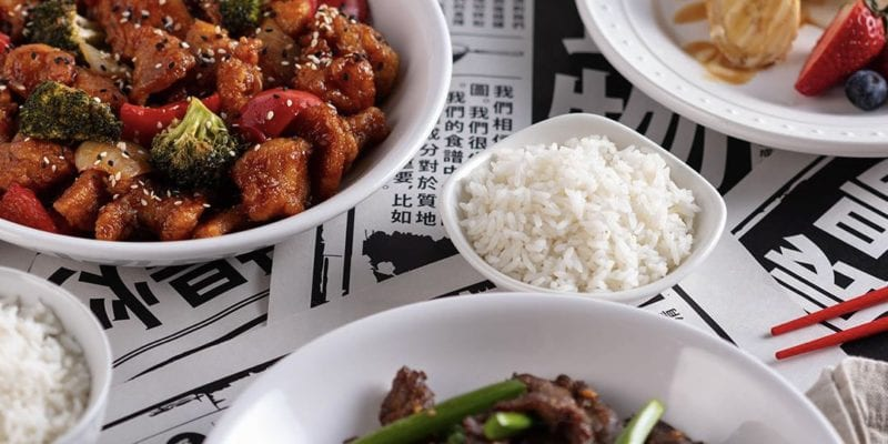 A promotional image of dishes at P.F. Chang's. The Asian-themed chain just changed ownership hands. / P.F. Chang's