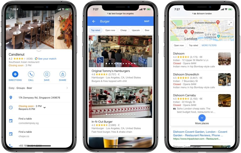 Restaurant Megatrends 2019: Google's Domination of Local Discovery Is Almost Complete