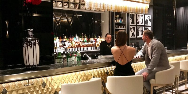 The bar at The Ritz-Carlton, Berlin. Marriott is investing heavily in its food and beverage outlets around the world, but especially at the luxury hotels it manages. / <a href='https://www.facebook.com/ritzcarltonberlin/photos/a.223136717715935/2498345830195001'>Marriott International</a>