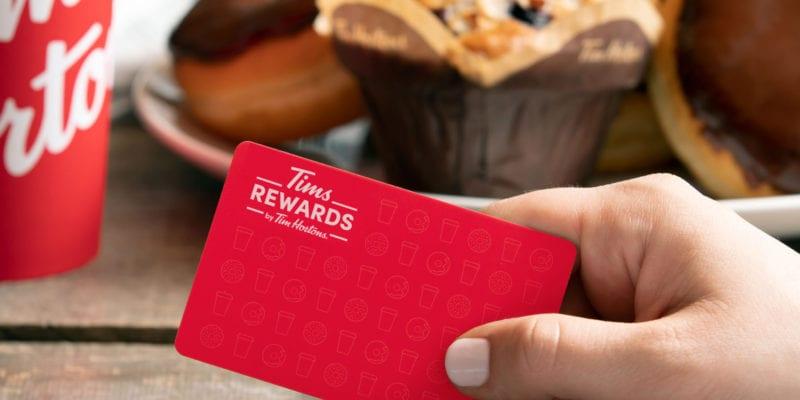 Tim Hortons' rewards program has more than 6 million members in Canada. / Tim Hortons